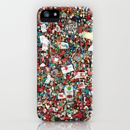 Gum Wall, Seattle iPhone Case