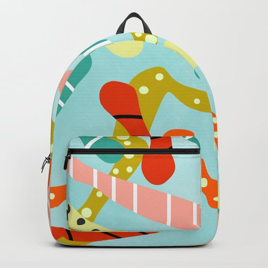 Cheerful snakes Backpack