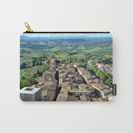 View from Torre Grossa, San Gimignano, Italy Carry-All Pouch