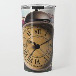 Watching the Clock Travel Mug