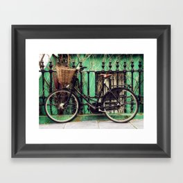 Bicycle at Rest Framed Art Print