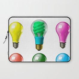 Lightbulbs Of A Differnt Color Laptop Sleeve