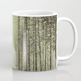 Victor Olgyay - Sunset - 1910 Sunrise Through Tree Forest Silhouette Coffee Mug