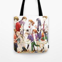 Anohana Characters Poster Tote Bag