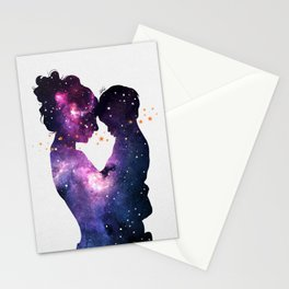 The first love. Stationery Cards
