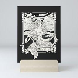 Sailors Beware The Voice Of The Sea Mini Art Print