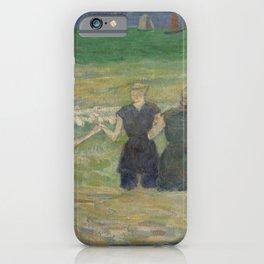 Paul Gauguin - Women Bathing (1885) iPhone Case