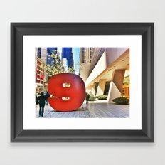 Nine Framed Art Print