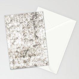 Ink Stitch: Cream Howlite Stationery Cards