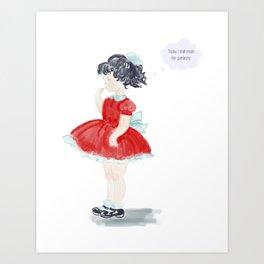 See Jane Riot: Emmylou Art Print