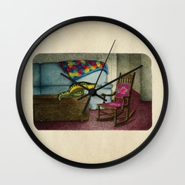 Alternate lighting source Wall Clock