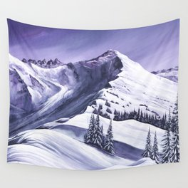 Pointe De Chesery Wall Tapestry
