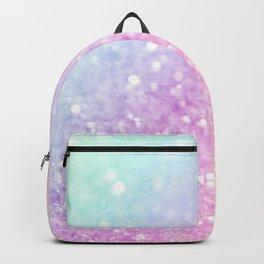 Pretty Pastel Colorful Glitter Bokeh Gradient Backpack