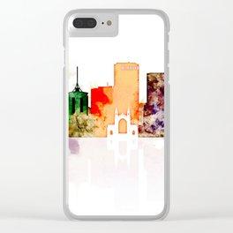 Tulsa City Skyline Clear iPhone Case