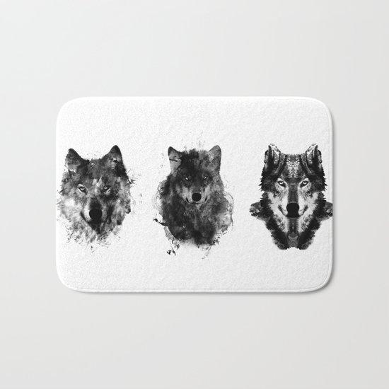 The Wolfpack Bath Mat