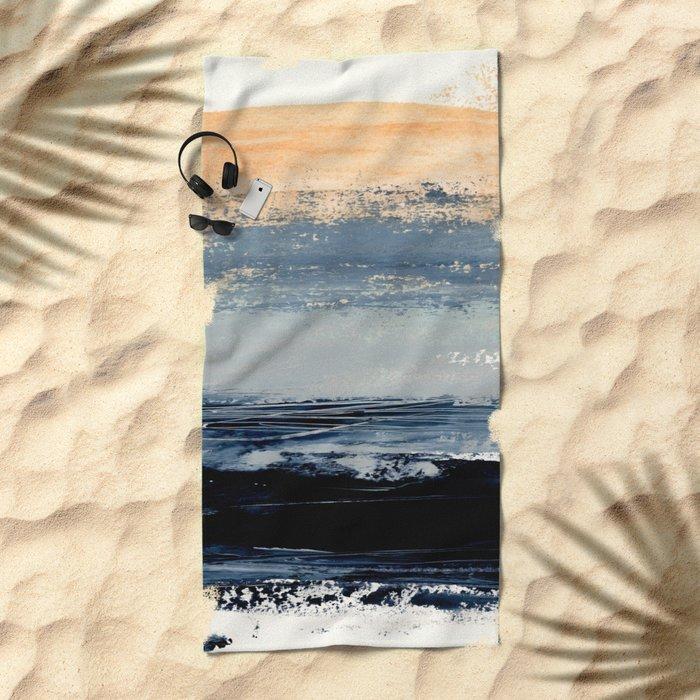 abstract minimalist landscape 5 Beach Towel