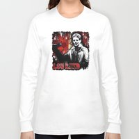 lou reed Long Sleeve T-shirts featuring Lou by Alan Hogan