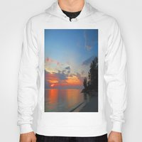thailand Hoodies featuring A Thailand sunset by I AmErika