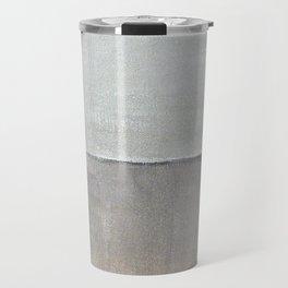 Hayward, minimalist abstract, NYC artist Travel Mug