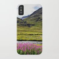 sweden iPhone & iPod Cases featuring SWEDEN PINK by Hail Of Whales
