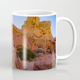 Colorful Sandstone, Valley_of_Fire - III Coffee Mug