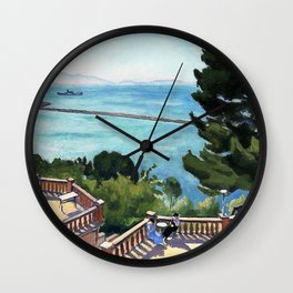 The terrace - Digital Remastered Edition Wall Clock