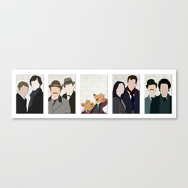 The Holmes and the Watsons Canvas Print