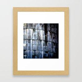 Silo Side Framed Art Print