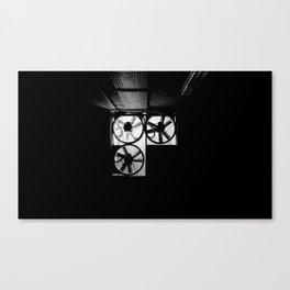 Dark Underground Canvas Print