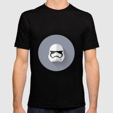 Stormtrooper 2015 Flat Design Episode VII Black LARGE Mens Fitted Tee