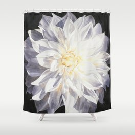 Fragile Solitude - Dahlia Shower Curtain