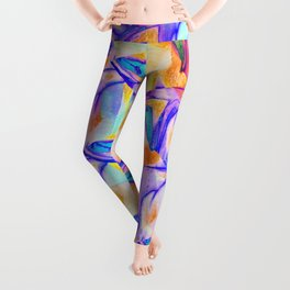 Butterfly Abstract Fashion Pattern  Leggings
