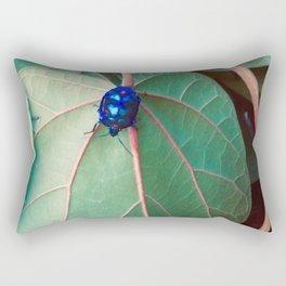 Cotton Harlequin Bug III Rectangular Pillow