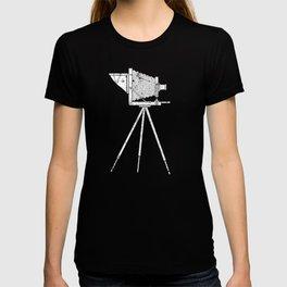 Retro Graphic Print Move Maker Camera Film print T-shirt
