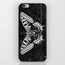 Butterfly in the stars iPhone Skin