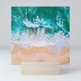 ocean wave 2 Mini Art Print