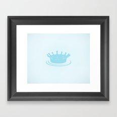 King Lake Framed Art Print