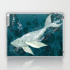Flying Whale Underwater Laptop & iPad Skin