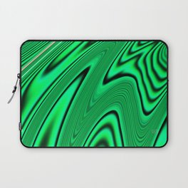 Abstract Fractal Colorways 03 Malalchite  Laptop Sleeve