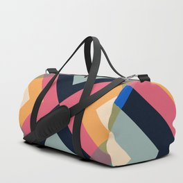Abstract Retro Pattern 04 Duffle Bag
