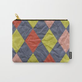 Wrinkled Harlequin II Carry-All Pouch