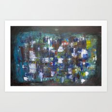 patchwork of chaos Art Print