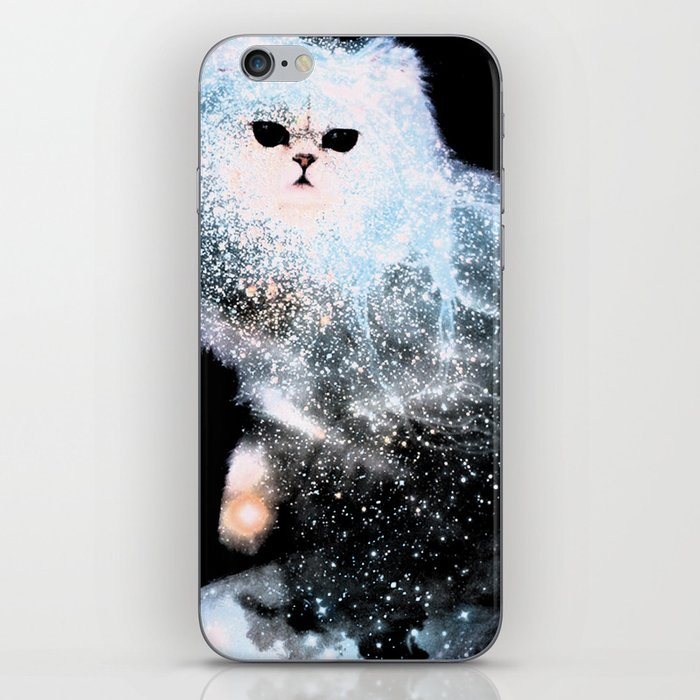 Celestial Cats - The Persian and the Ashes of the First Stars iPhone Skin