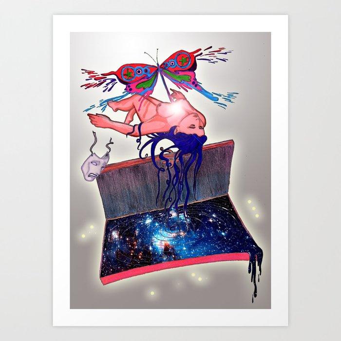 Catarsis Art Print