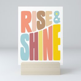 Rise & Shine Mini Art Print