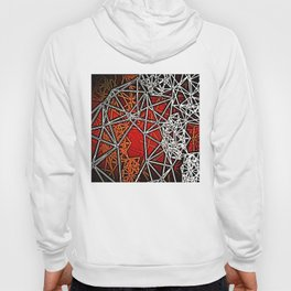 Geometric shadows Hoody