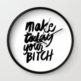 Motivation Wall Clock