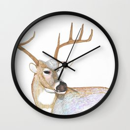 King Stag Wall Clock
