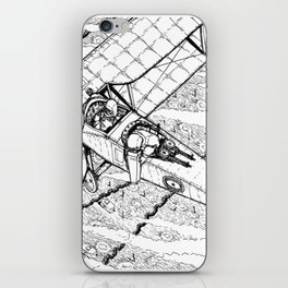 Scouting over enemy lines iPhone Skin