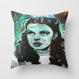 Waiting for the Man Throw Pillow